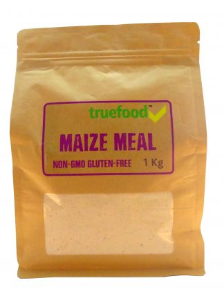 True Food Maize Meal Non GMO 1kg