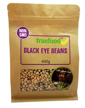 True Food Black Eyed Beans 400g