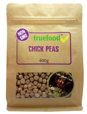 True Food Chickpeas 400g