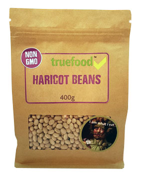 True Food Haricot Beans 400g