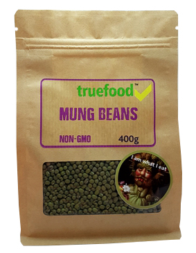 True Food Mung Beans 400g