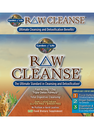 Garden of Life Raw Cleanse Triple Detox Formula