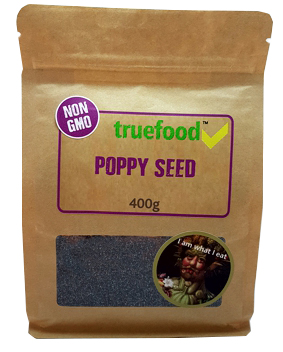 True Food Poppy Seeds 400g