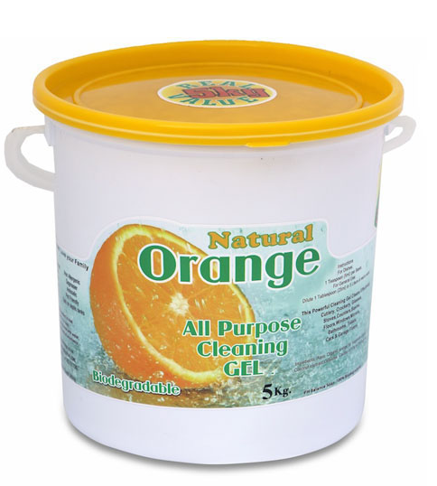 Natural Orange All Purpose Cleaning Gel 5 kg