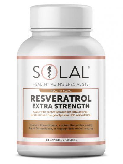Solal Resveratrol Extra Strength