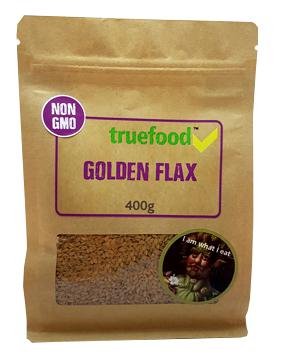 True Food Golden Flaxseed 400g