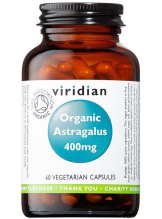 Viridian Astragalus 400mg Organic