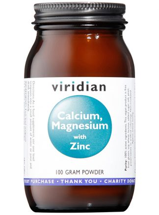 Viridian Calcium Magnesium with Zinc Powder 100g