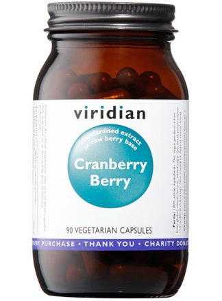 Viridian Cranberry Berry 90 caps
