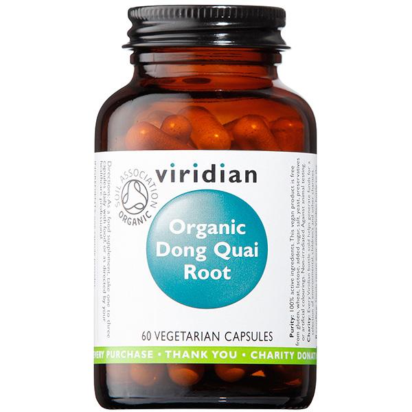 Viridian Dong Quai Root 400mg Organic 60