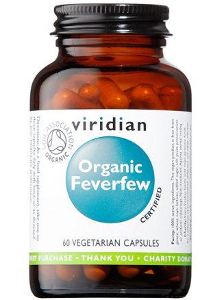 Viridian Feverfew 400mg Organic 60