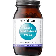 Viridian Grape Seed Extract 100mg 90 caps