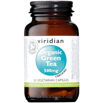 Viridian Green Tea Leaf 500mg Organic