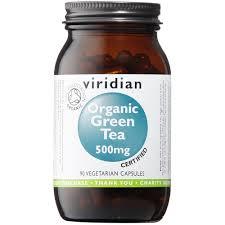 Viridian Green Tea Leaf 500mg Organic 90 caps