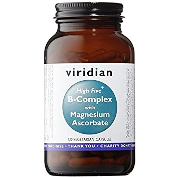 Viridian High Five B Complex with Magnesium Ascorbate 120 caps
