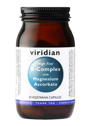 Viridian High Five B Complex with Magnesium Ascorbate 90 caps