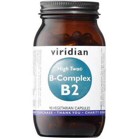 Viridian High TWO® B2 with B Complex 90 caps