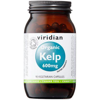 Viridian Kelp 600mg (providing 420ug iodine) 90