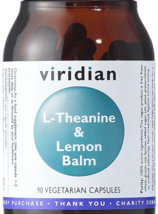 Viridian L-Theanine and Lemon Balm 90 capsules