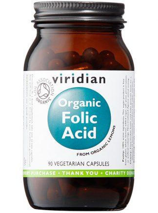 Viridian ORGANIC Folic Acid 400ug