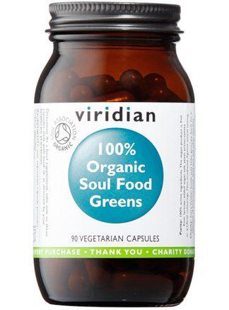 Viridian Soul Food Green veg caps organic 90