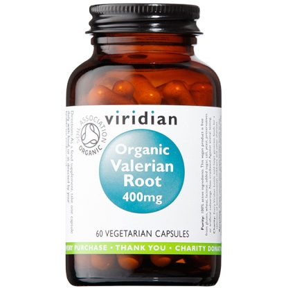 Viridian Valerian Root 400mg Organic 60