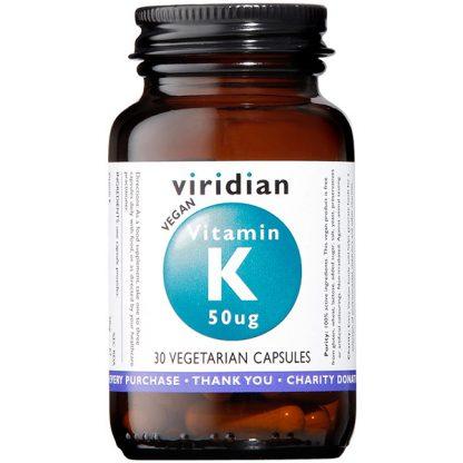 Viridian Vitamin K 50ug 30