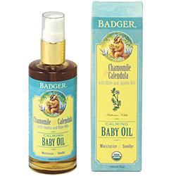 Badger Baby Oil - USDA Organic
