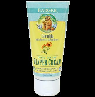 Badger Diaper Cream - USDA Certified Organic