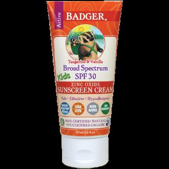 Badger Kids SPF30 Sunscreen