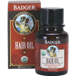 Badger Man Care Men's Hair Oil