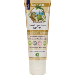 Badger SPF 25 Unscented Lotion