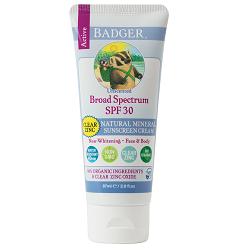 Badger SPF30 Clear Zinc Sunscreen