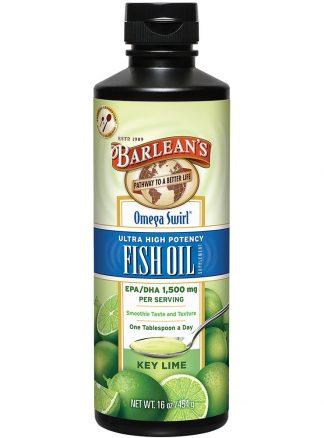 Barleans Omega Swirl Ultra High Potency Fish Oil 454g