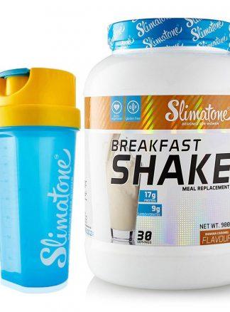 Slimatone Breakfast Shake (Banana Caramel) + Free Shaker