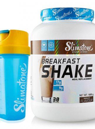Slimatone Breakfast Shake (Chocolate) + Free Shaker