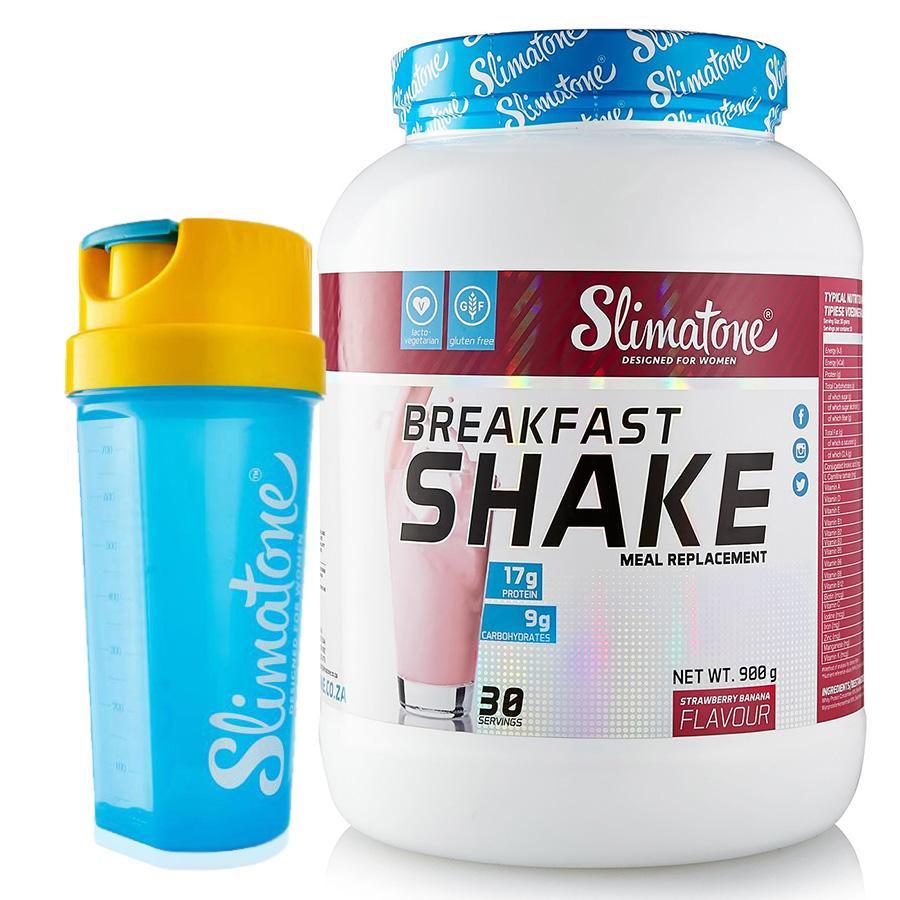 Slimatone Breakfast Shake (Strawberry) + Free Shaker