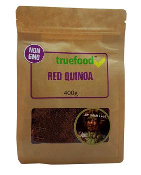 Truefood Red Quinoa 400g