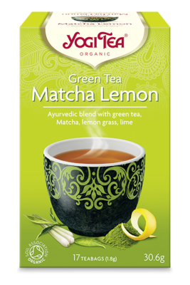 Yogi Tea Green Tea Matcha Lemon