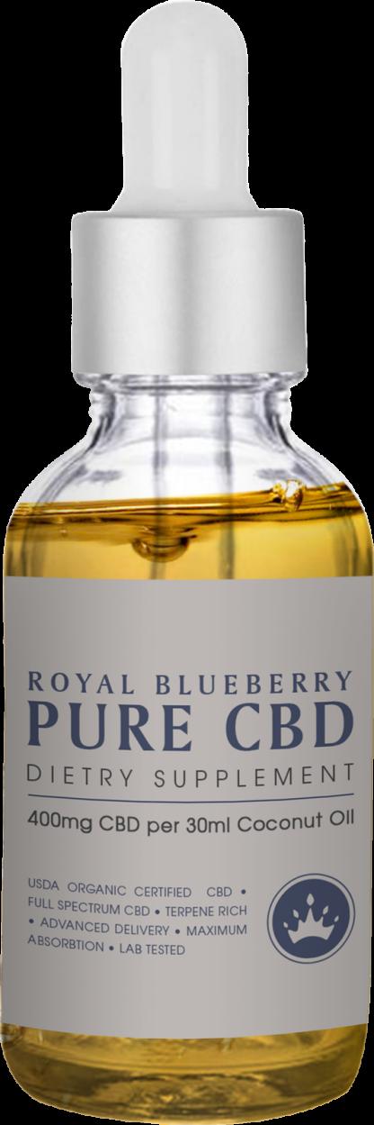 Cannaco MCT CBD Oil 400mg Royal Blueberry 30ml