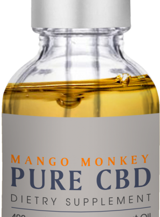 Cannaco MCT CBD Oil 400mg Mango Monkey 30ml
