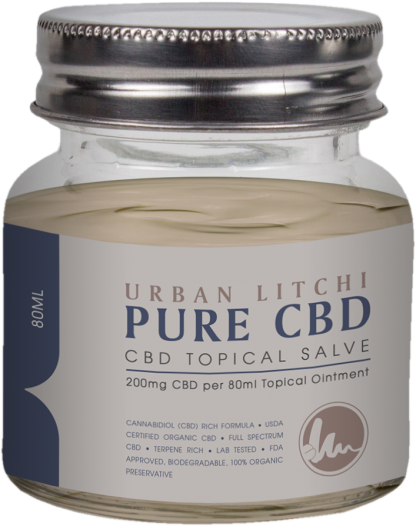 Cannaco Pure CBD Topical Salve – Urban Litchi 80ml