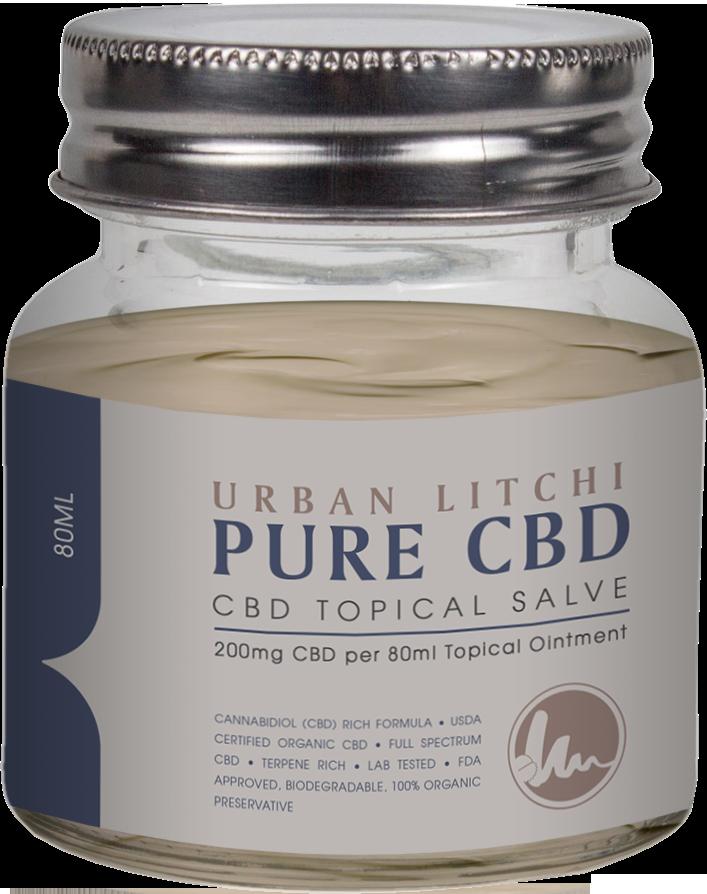 Cannaco Pure CBD Topical Salve – Urban Litchi 80ml