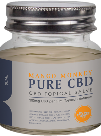 Cannaco Pure CBD Topical Salve – Mango Monkey 80ml