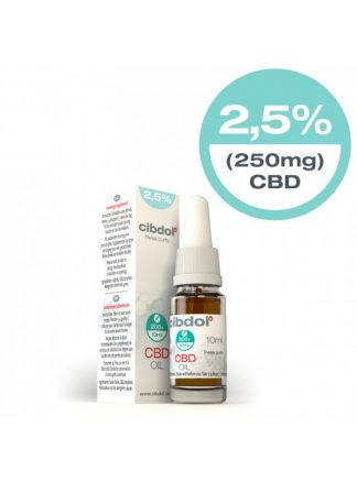 Cibdol CBD Hemp oil 250mg 2.5%
