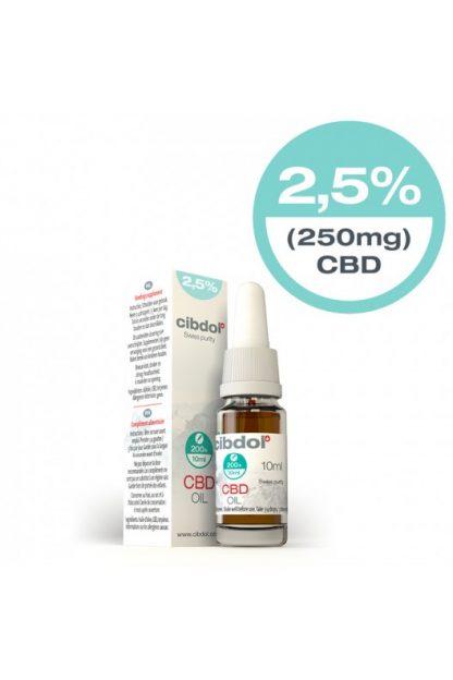 Cibdol CBD Hemp oil 250mg 2.5%