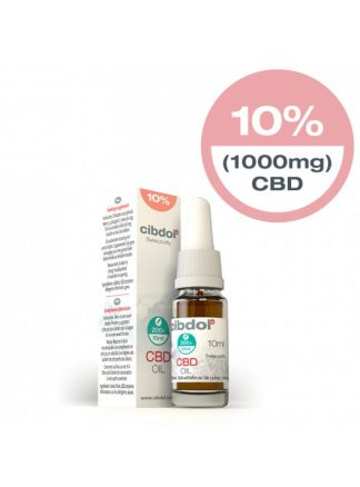 Cibdol CBD Oil STRONG 10ml 10% CBD 1000mg