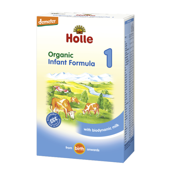 Holle Organic Baby Foods Stage 1 Formula