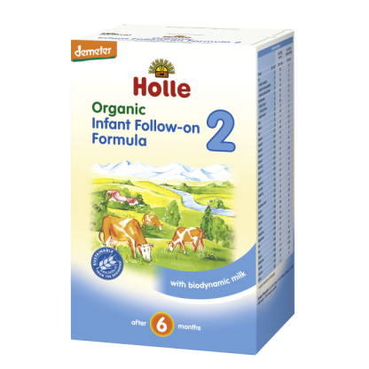 Holle Organic Baby Foods Stage 2 Formula