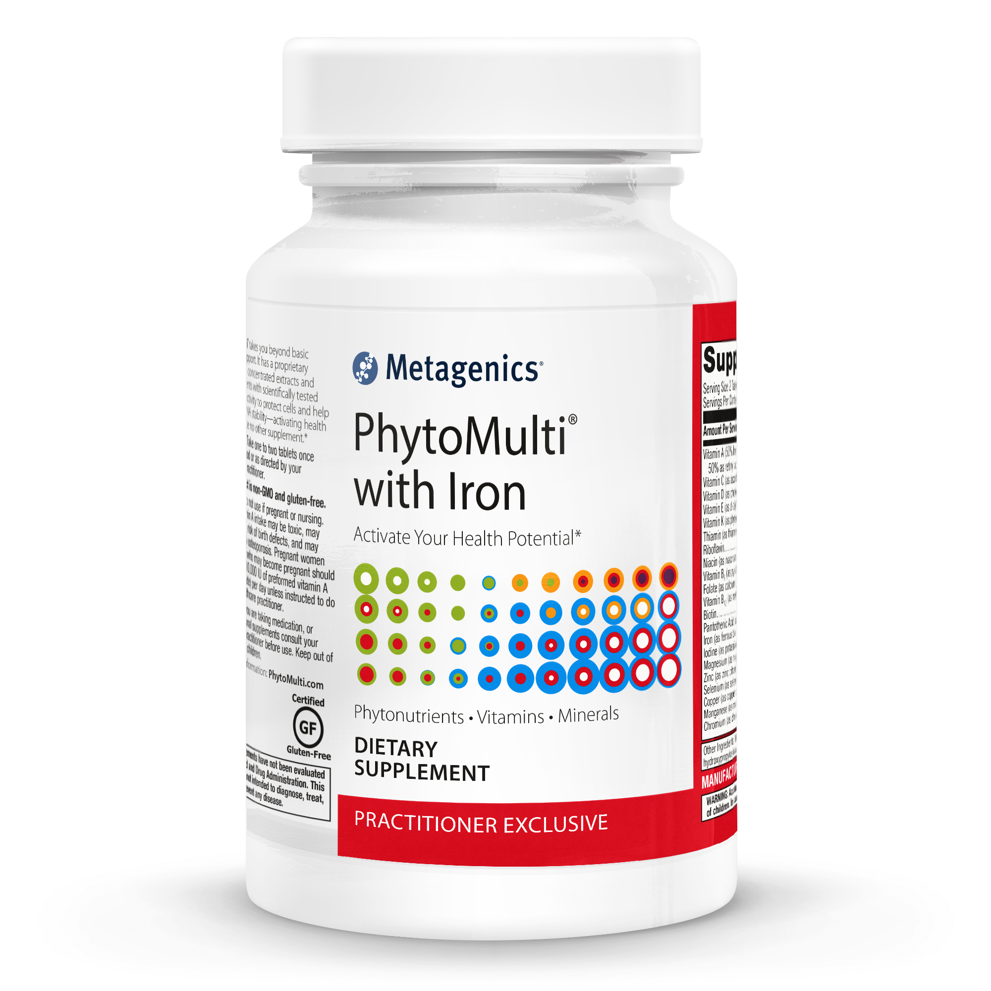 Metagenics PhytoMulti with Iron 60T